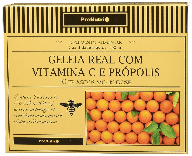 PRONUTRI Two Pack Jalea Real con Vitamina C y Propóleo 10 viales: Amazon.es: Salud y cuidado personal