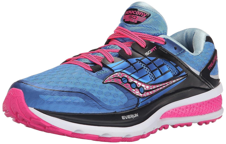 Saucony Women's Triumph ISO 2 Running Shoe B00YBDAAG6 9.5 B(M) US|Blue/Pink