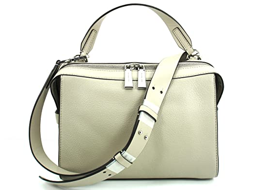 6e7c30bf939096 Image Unavailable. Image not available for. Color: MICHAEL Michael Kors  Ingrid Medium Leather Shoulder Cement 30T6SIGL2L