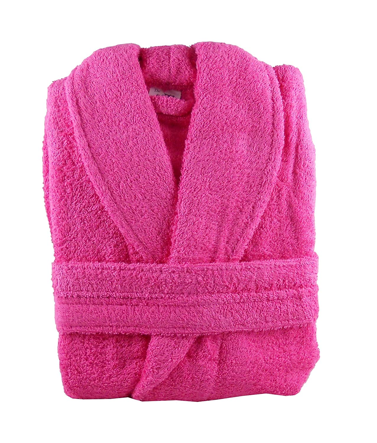 The House Of Emily Huge Massive 100% Cotton Terry Towelling Bathrobe + Matching  Belt - XXXL Chest Size 67