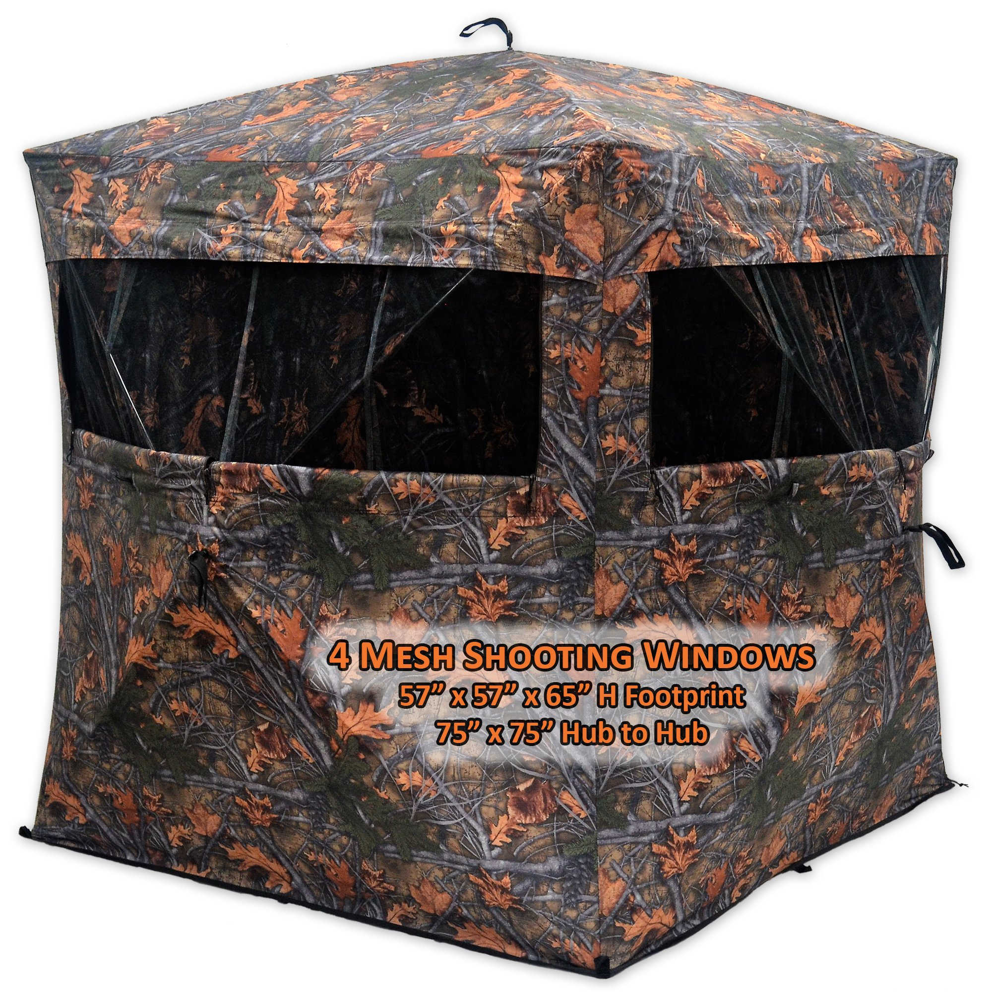 Copper Ridge Deluxe Hub Blind Camouflage by Copper Ridge (Image #2)