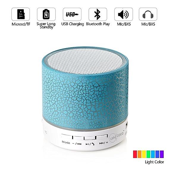 The 8 best leacoco mini wireless portable bluetooth speaker