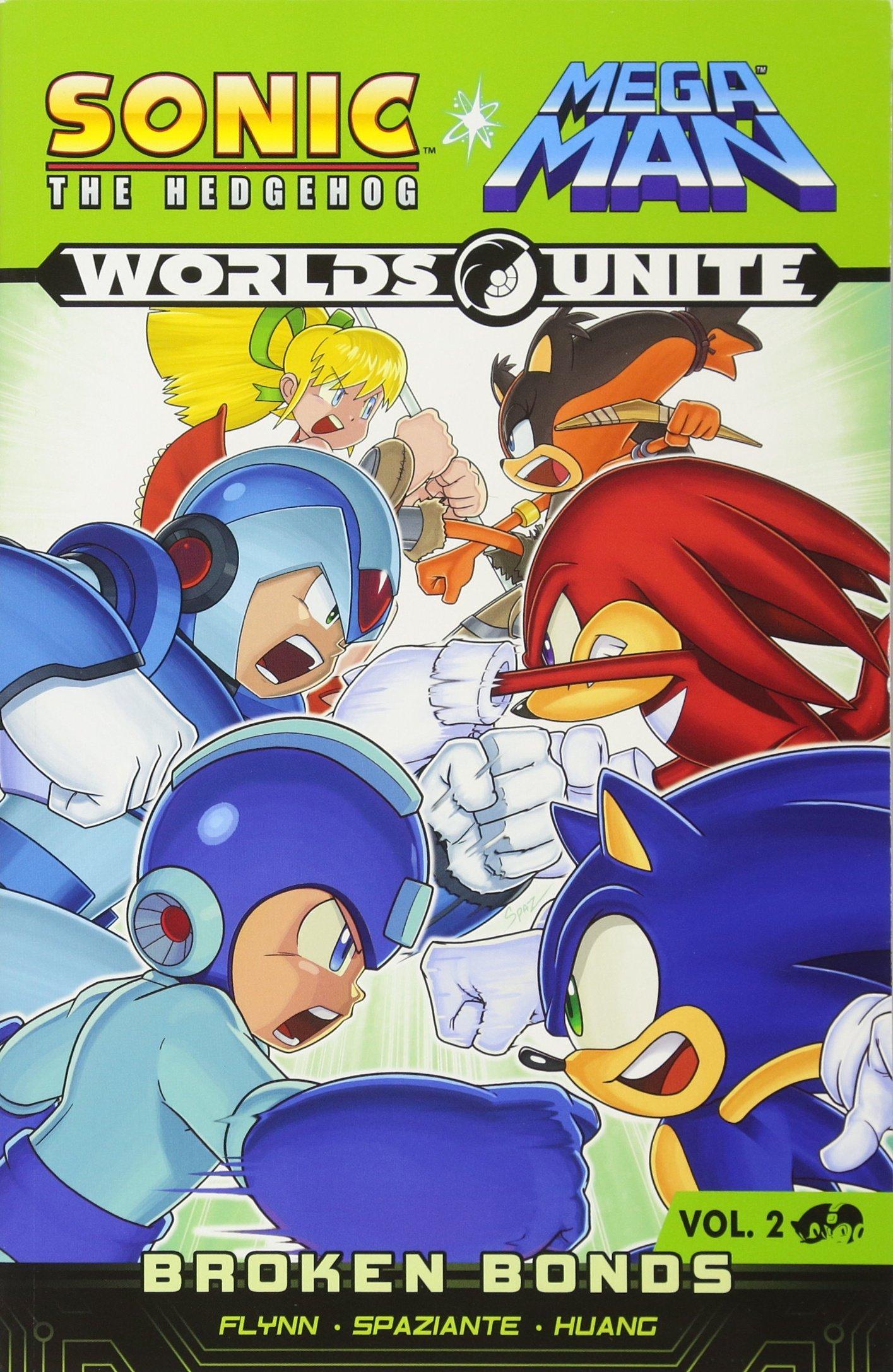 Amazon Com Sonic Mega Man Worlds Unite 2 9781627388689 Sonic Mega Man Scribes Books
