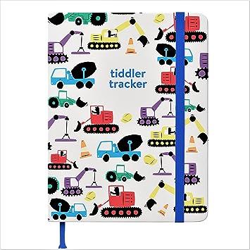 Changing /& Activity Log Book tiddler Toddler Tracker Award Winning Toddler Tracking Journal Sleeping Daily Meal Time//Feeding London Landmarks Luxury Toddler Record Book