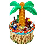 Widmann 04865 - Aufblasbarer Palmen Kühler für Getränke Widmann 04865 - Aufblasbarer Palmen Kühler für Getränke
