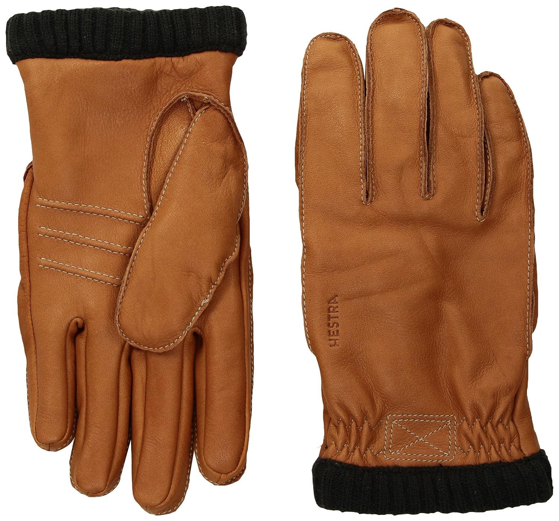 Hestra Hestra Mens Leather Work Gloves: Deerskin Primaloft Rib Winter Glove 20210