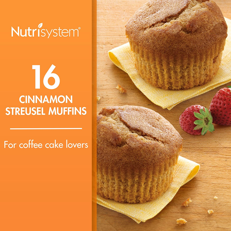 Nutrisystem® Cinnamon Streusel 16CT Bundle