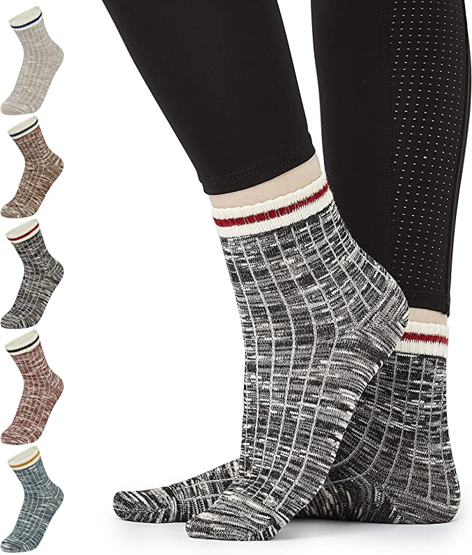 CityComfort Calcetines Mujer, Pack de 7 Pares Calcetines Altos ...