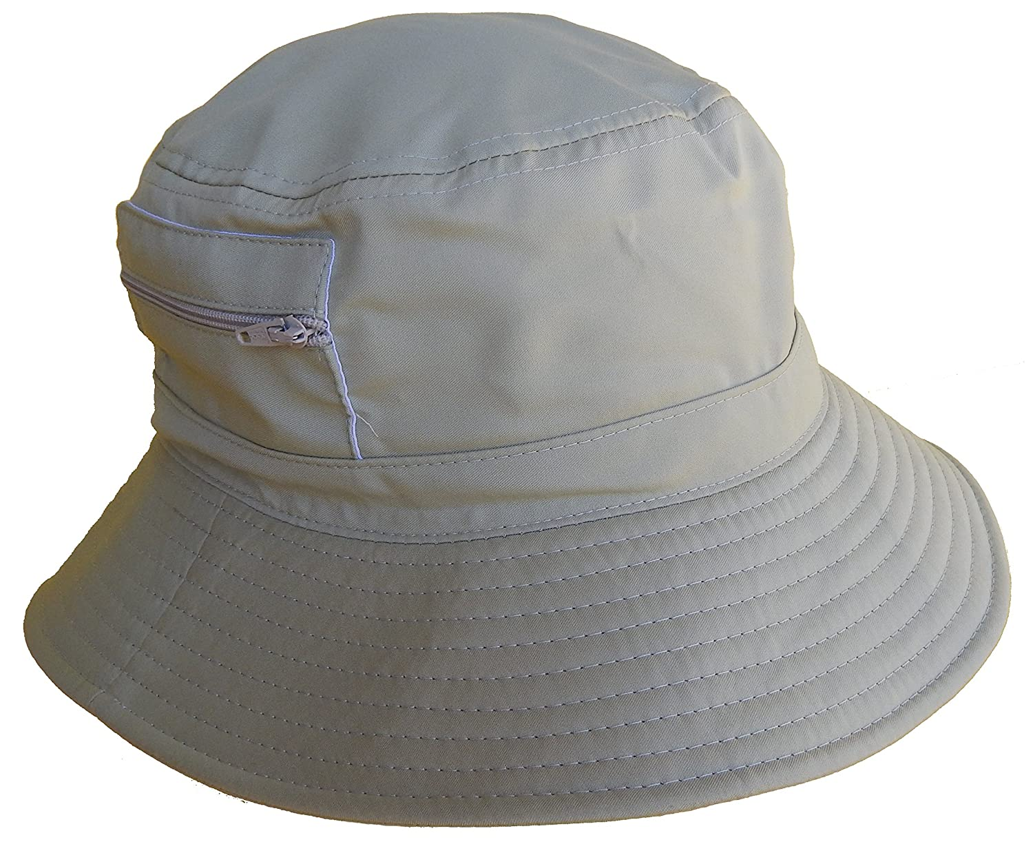 Bucket Hat w  zipper side pockets  style 274  at Amazon Men s Clothing  store  133a5244096