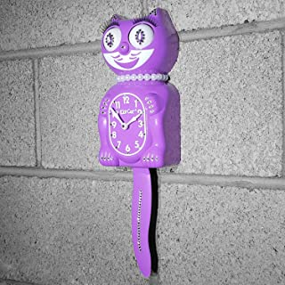 product image for Kit Cat Klock Jeweled Limited Edition Lady (Radiant Orchid)