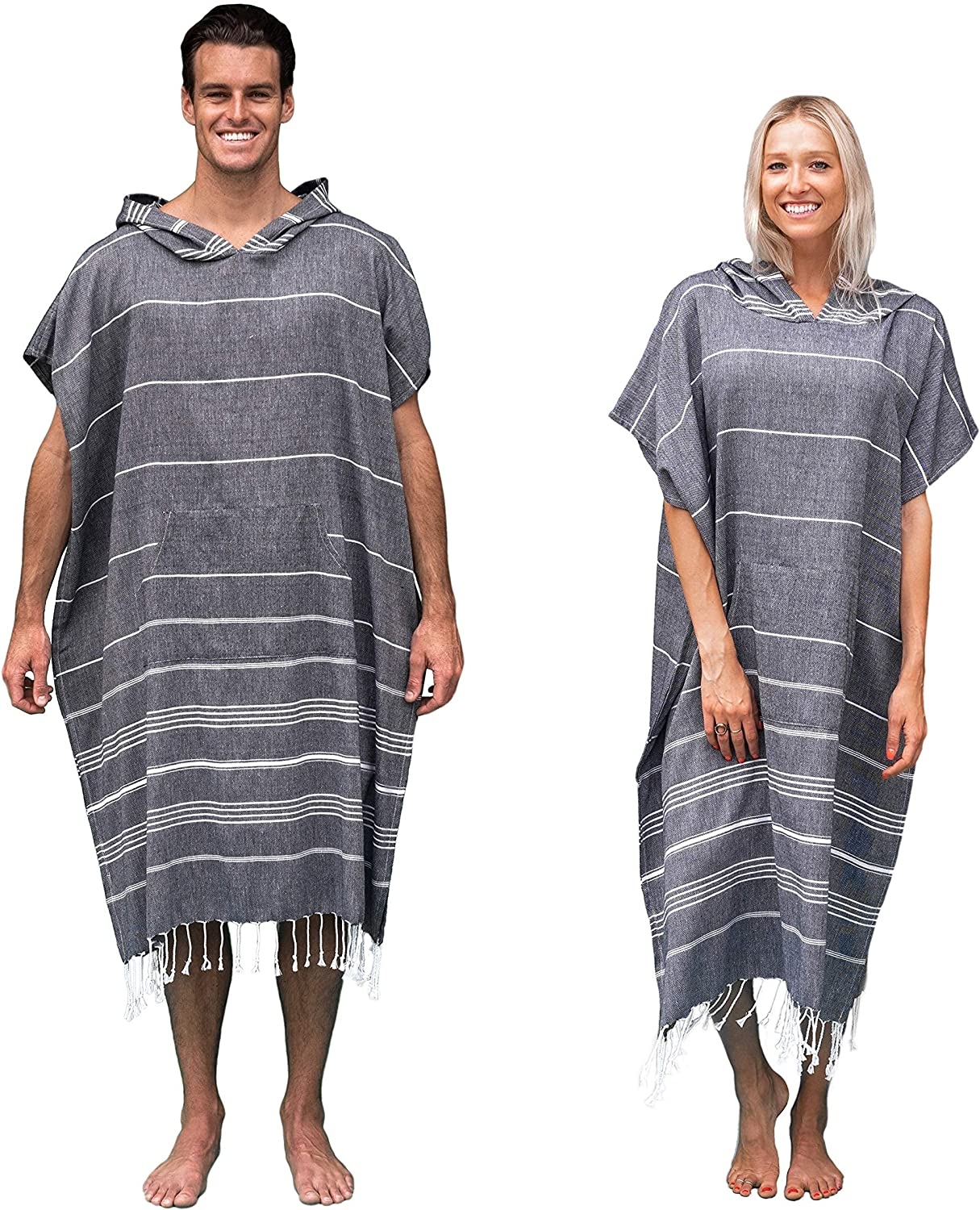 Adult Poncho Towel Microfibre Quick Dry Light Weight Wolf Animal Print Towel for Women Men Beach Swimming Surfing Wetsuit Travel Treer Changing Robe Hooded