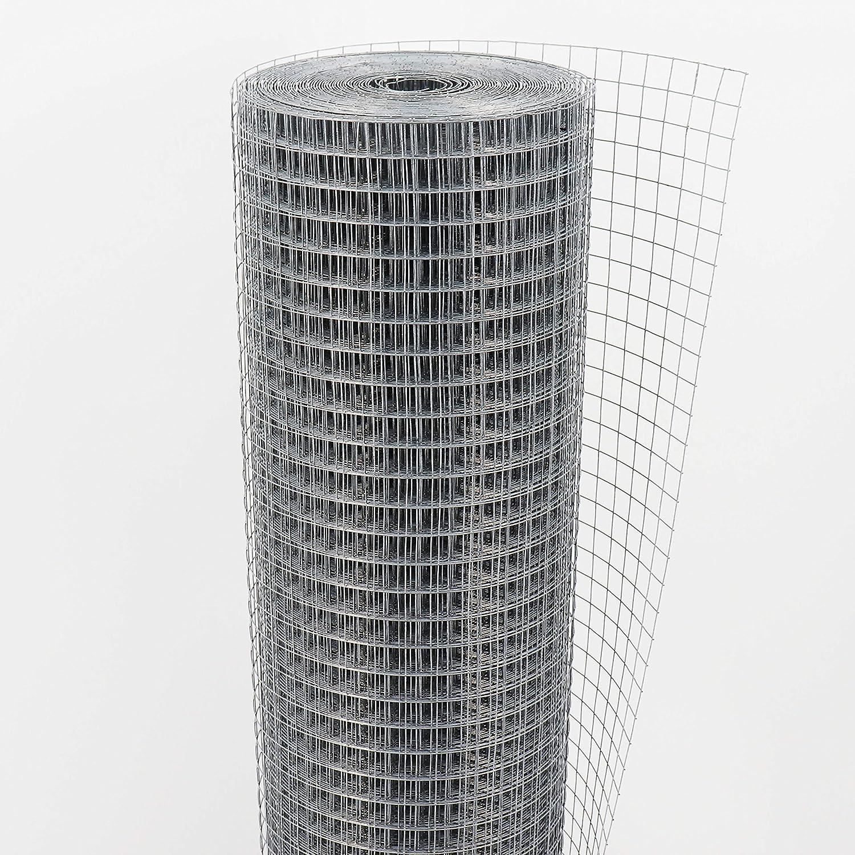 rete saldata rete a maglie recinzione metallica 19mm x 19mm 20m x 1m Rete per voliera rete metallica