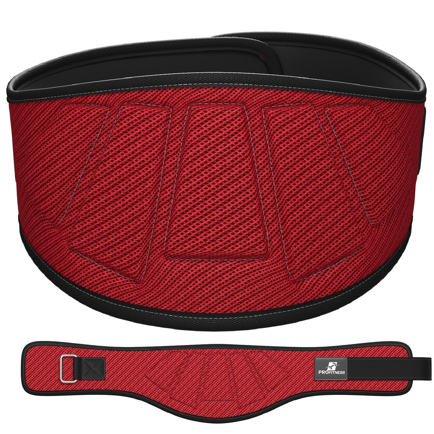 6-Inch-Wide – Proper Weight lifting Form – ProFitness Weightlifting Belt
