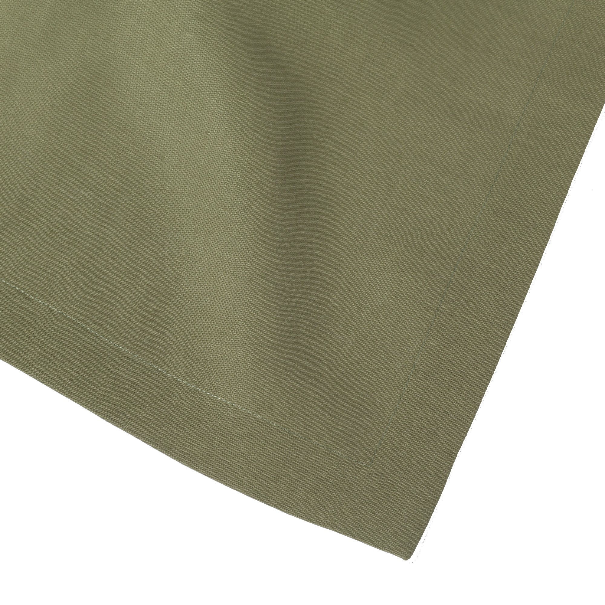 Sage Olive Green Pure Linen Placemat 15x20 (Set of Six) by Huddleson Linens (Image #2)
