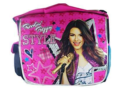 5d5229ba64 Image Unavailable. Image not available for. Color  Rockin  Preppy Style  Victorious Messenger Bag - Victoria Justice ...
