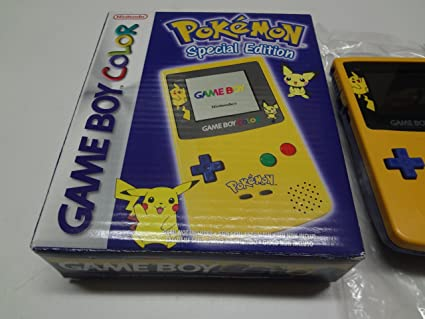 Game Boy Color Pokemon Special Edition Amazon Fr Jeux Video