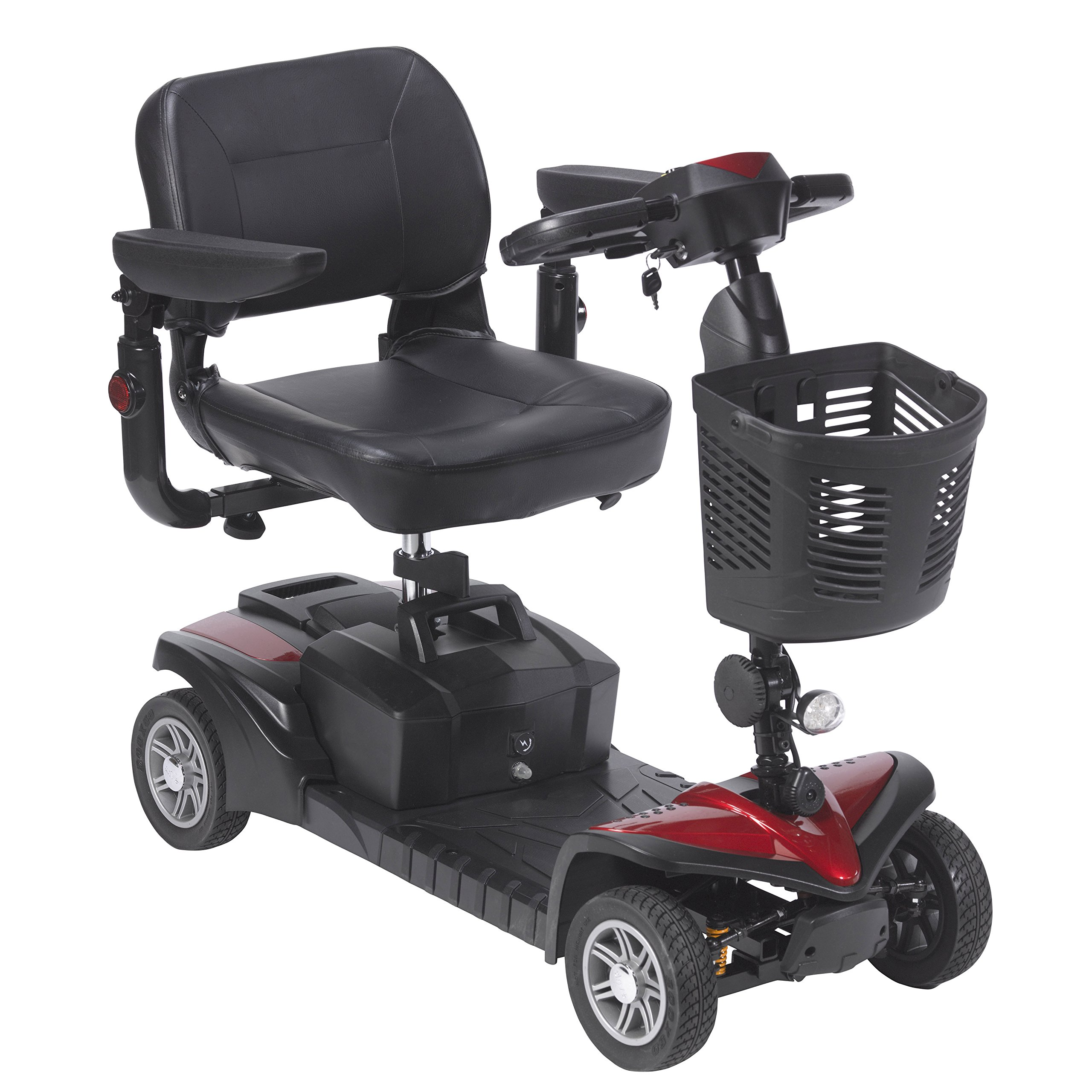 Drive Medical Spitfire DST 4-Wheel Travel Scooter by Drive Medical