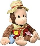 "GUND Curious George Teach Me Fisherman Monkey Stuffed Animal Plush, 16"""