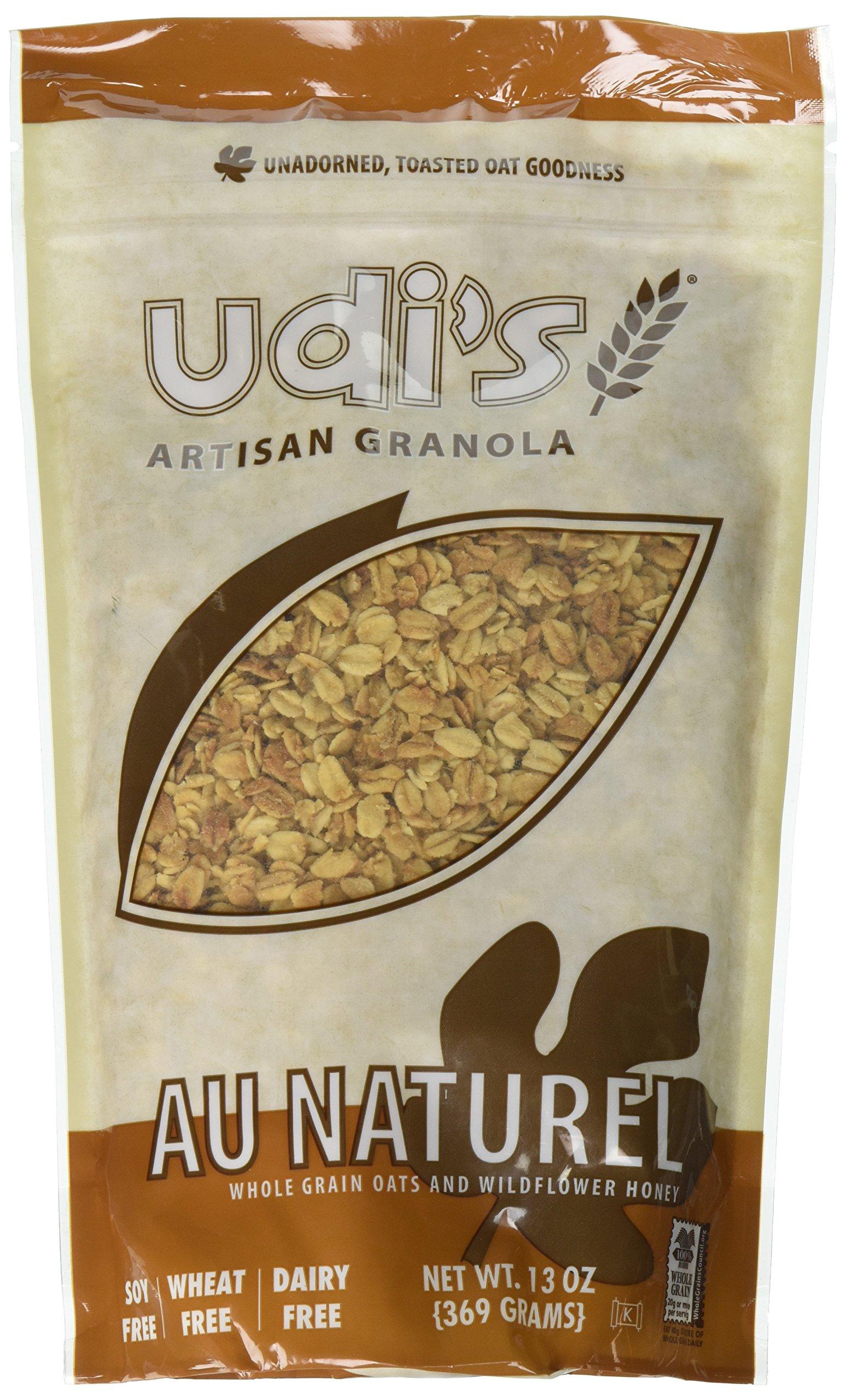 Udi's Gluten Free Au Naturel Granola, 13 oz