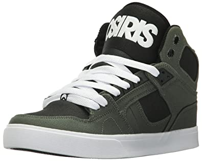 b5549b94cb1b Osiris Men s NYC 83 VLC Skate Shoe Dark Green Black 5 ...