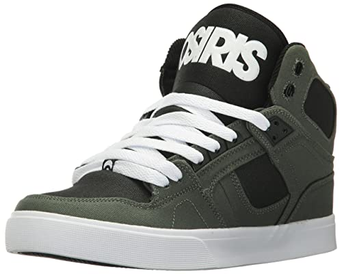 Osiris Men s NYC 83 VLC Skate Shoe Dark Green Black 5 ... 291bd3dea05