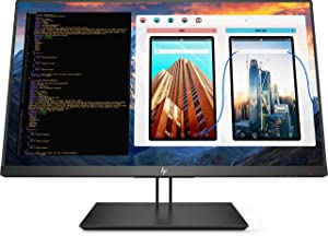 "HP 2TB68A8 HP Business Z27 27"" LED LCD Monitor - 16: 9-8 MS GTG, Black (Renewed)"