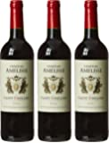 CHATEAU AMELISSE France Bordeaux MDC Vin Saint Emilion AOP 2012 75 cl - Lot de 3