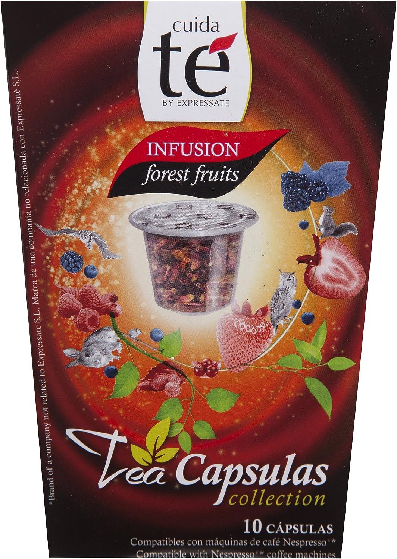 Cuida Té - Infusión Frutas Del Bosque, 10 Cápsulas: Amazon.es ...