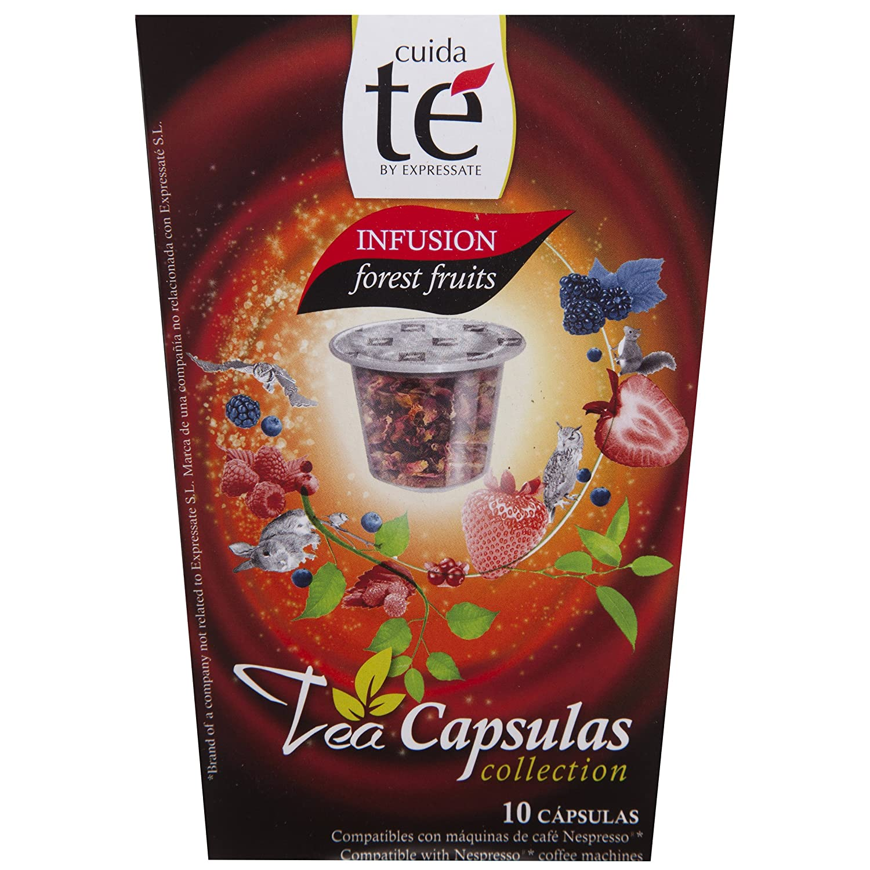 Cuida Té - Infusión Frutas Del Bosque, 10 Cápsulas: Amazon.es: Alimentación y bebidas