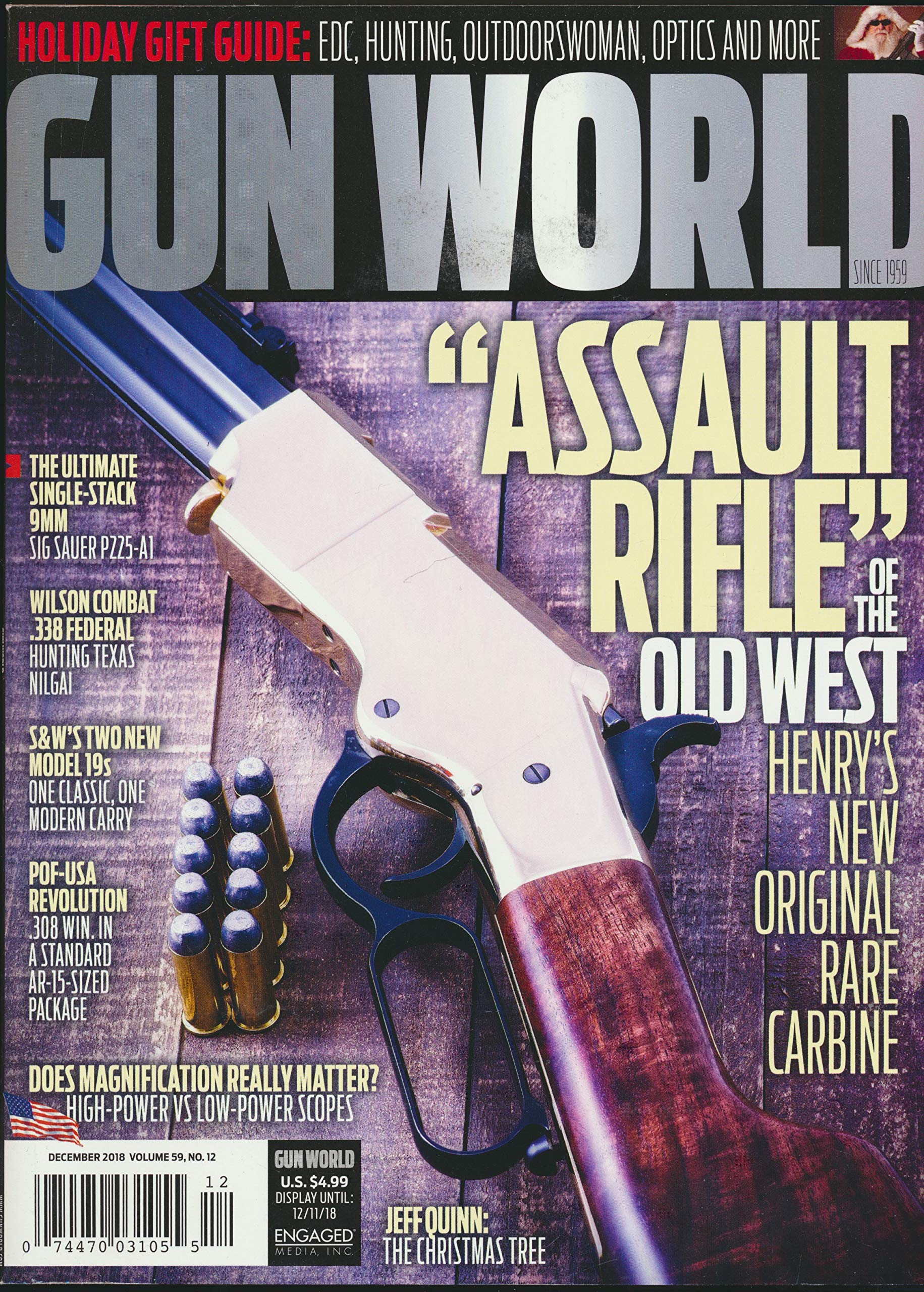 Gun World : Assault Rifle of the Old West the Henry Carbine