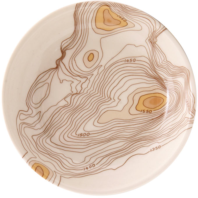 Topography Dipping Bowl - Serveware