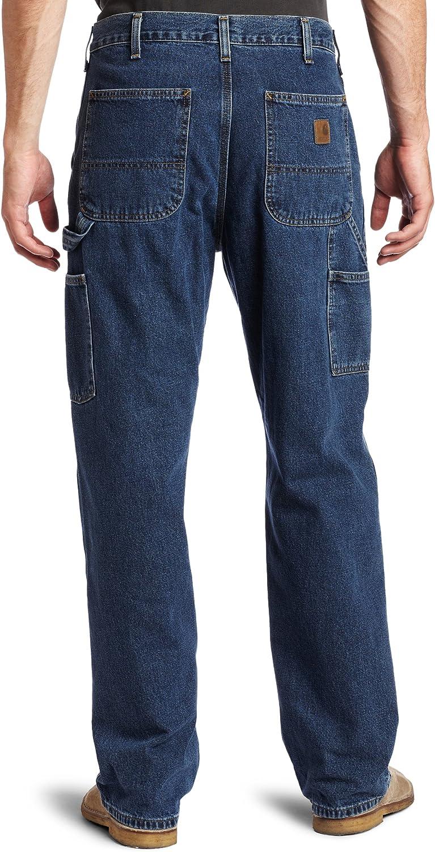 Carhartt Jeans Loose Fit Carpenter Work Jean Straight Leg Dungaree Denim B13