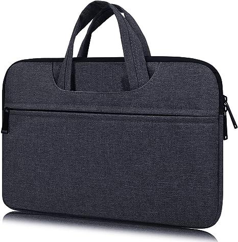 14-15 Inch Premium Water Resistant Laptop Case Handbag for MacBook Pro 15 Inch, HP Stream 14, Acer Chromebook 14, Lenovo Yoga 920 13.9, ASUS Lenovo ...