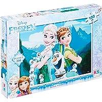 Disney Frozen Yapboz, 100 Parça