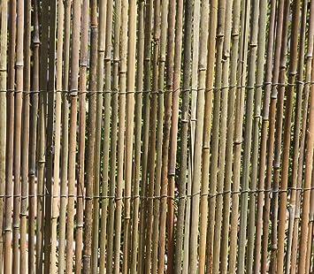 Amazon De Haga Welt De 5m X 1 5m Bambusmatte Bambus