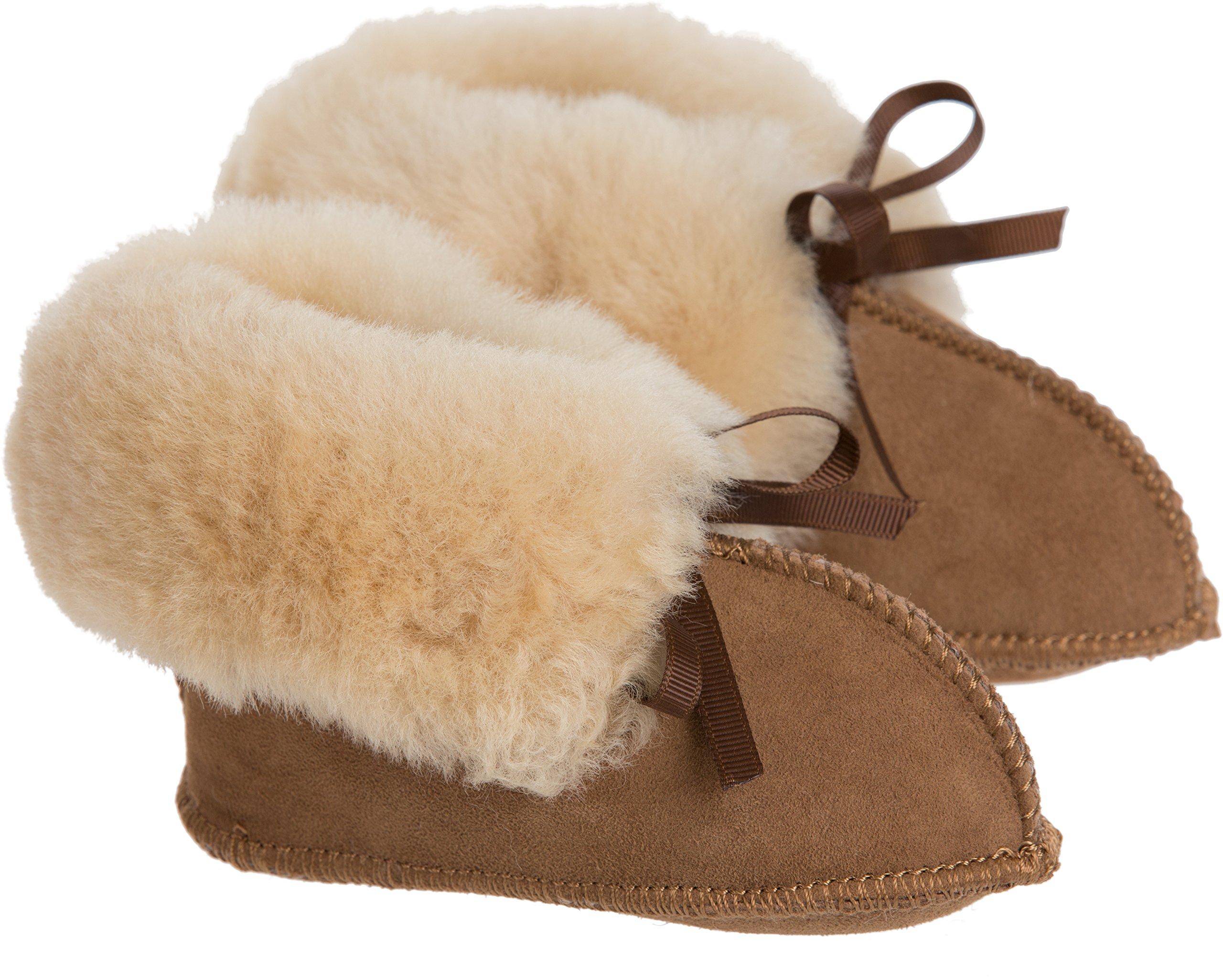 Australian Sheepskin Baby Slipper Booties