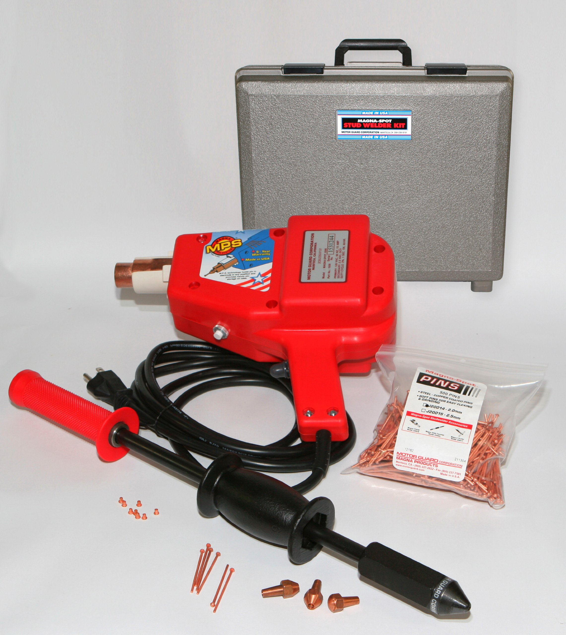 Motor Guard JO1500A 240 V Magna-Spot Professional Studwelder Kit by Motor Guard