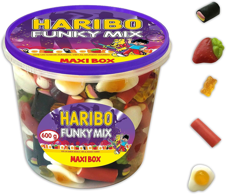 Surtido de gominolas Haribo Maxibox Funky Mix por sólo 3,83€