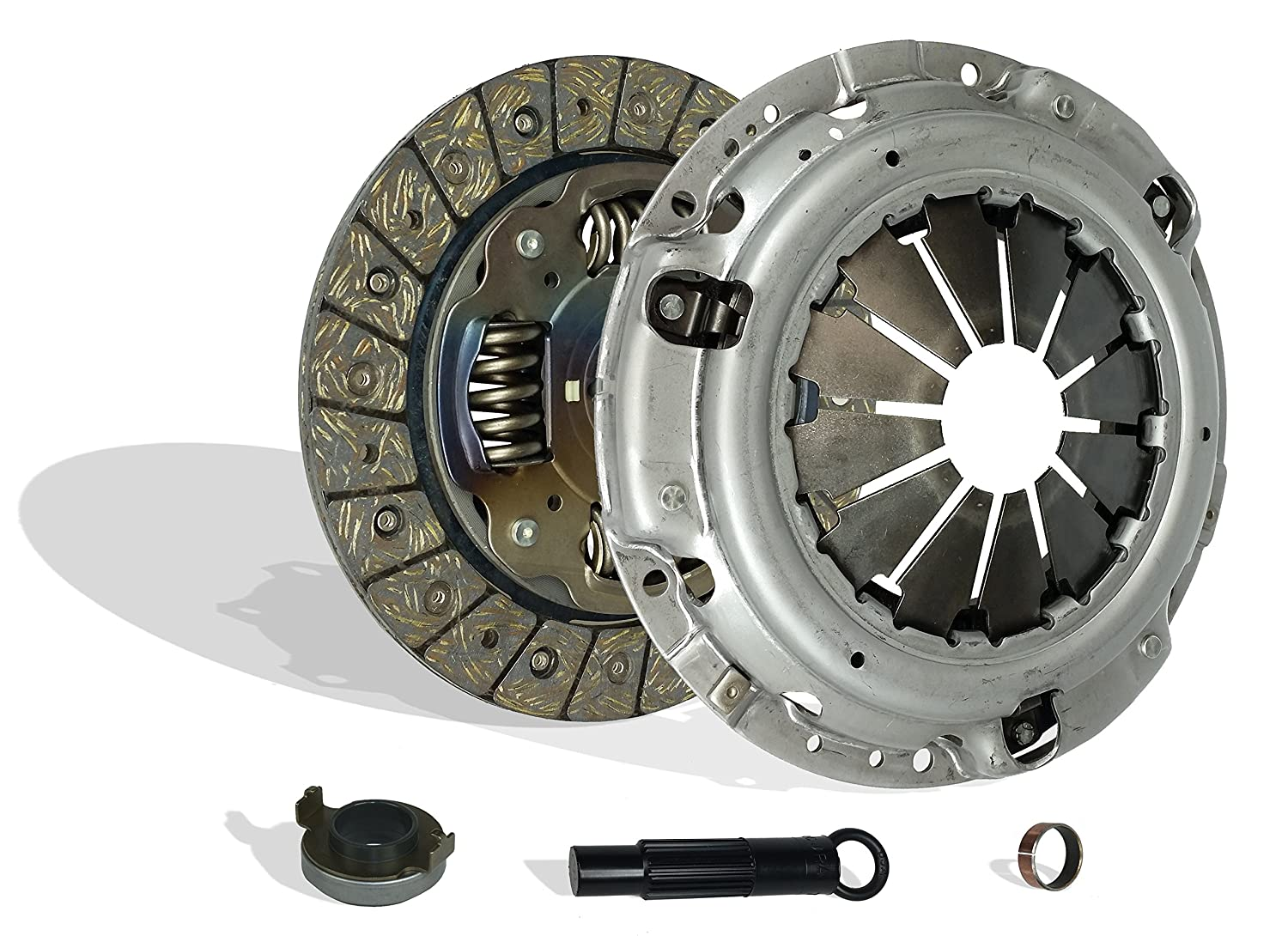 Clutch Kit Works With Honda Accord Ex Dx Special Edition Value Coupe 2-Door Sedan 4-Door 2003-2007 2.4L l4 GAS DOHC Naturally Aspirated (Clutch Kit Works With For Positive Step Flywheel 1-1/6' x 24T Disc; ) Southeast Clutch