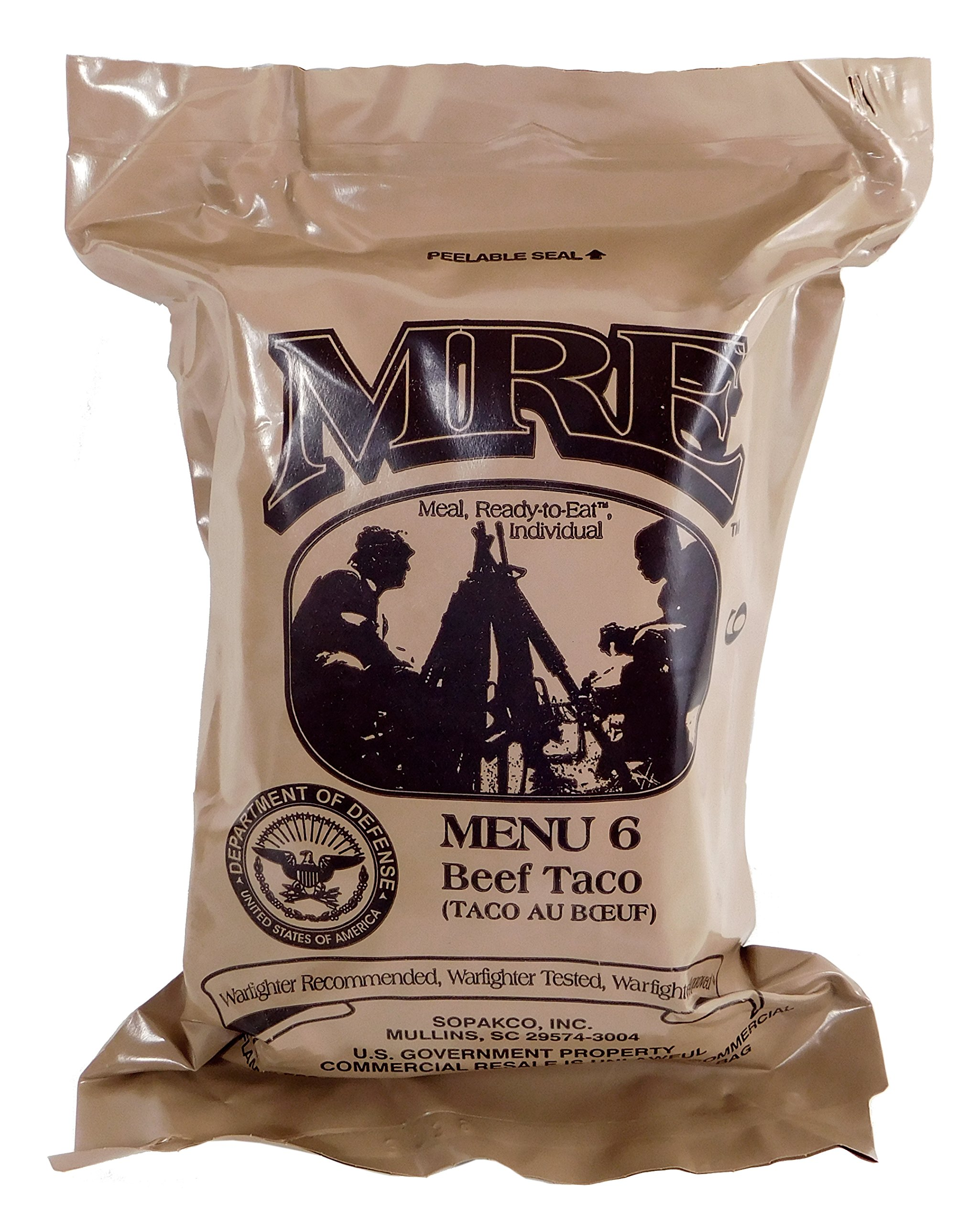 Amazon.com   Western Frontier MRE (Meals Ready-to-Eat) Select Your Meal ca81386f6b