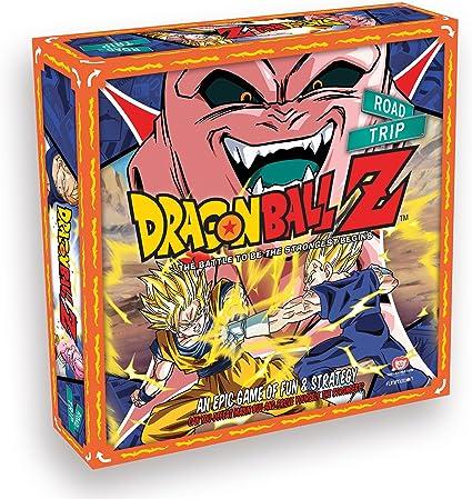 Dragon Ball Z Road Trip Board Game: Amazon.es: Juguetes y juegos