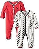 U.S. Polo Assn. Baby Girls' 2 Pack Long Sleeve