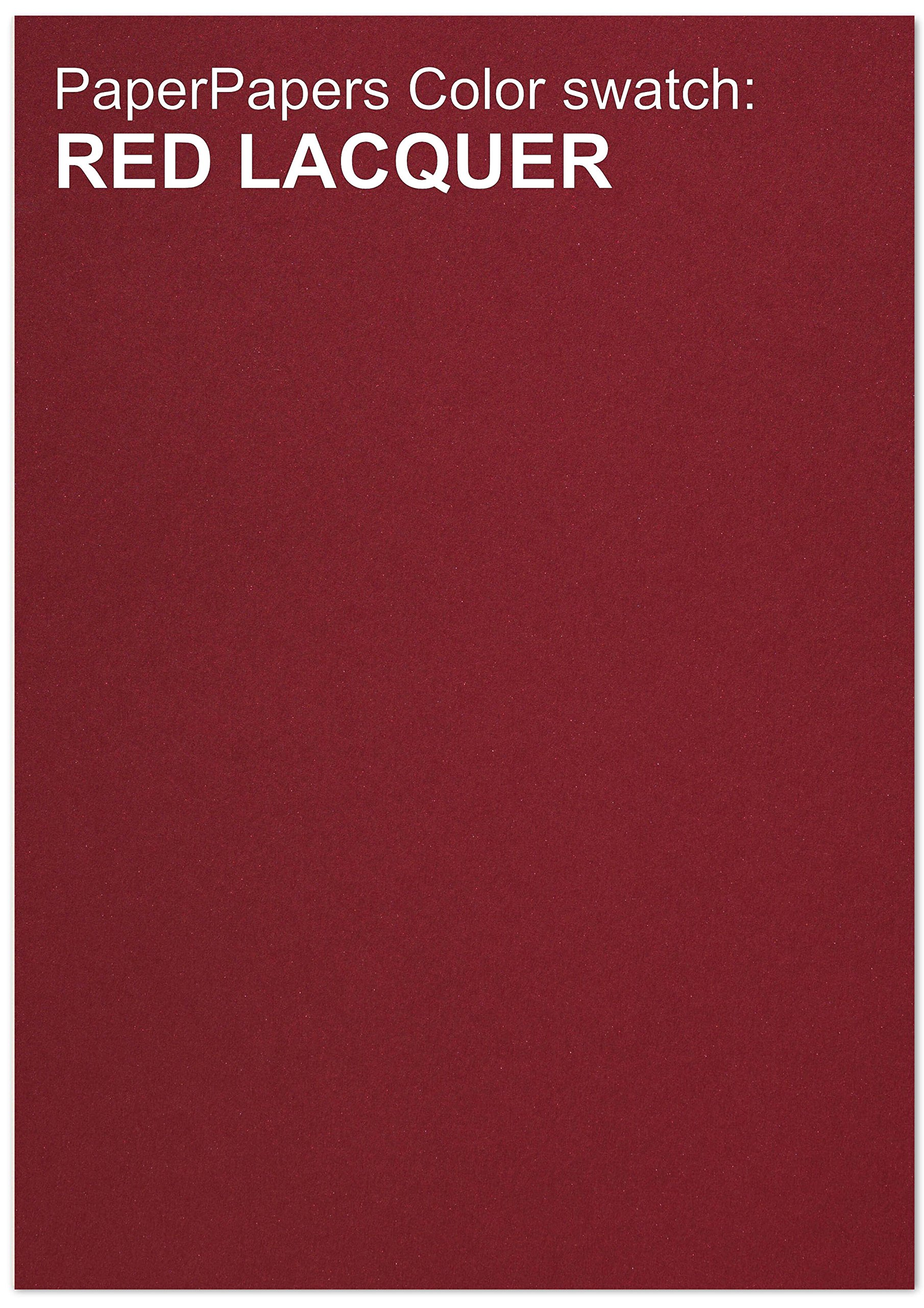 Curious Metallic - RED LACQUER Paper - 32T Multipurpose Paper - 12 x 18 - 200 PK by Paper Papers