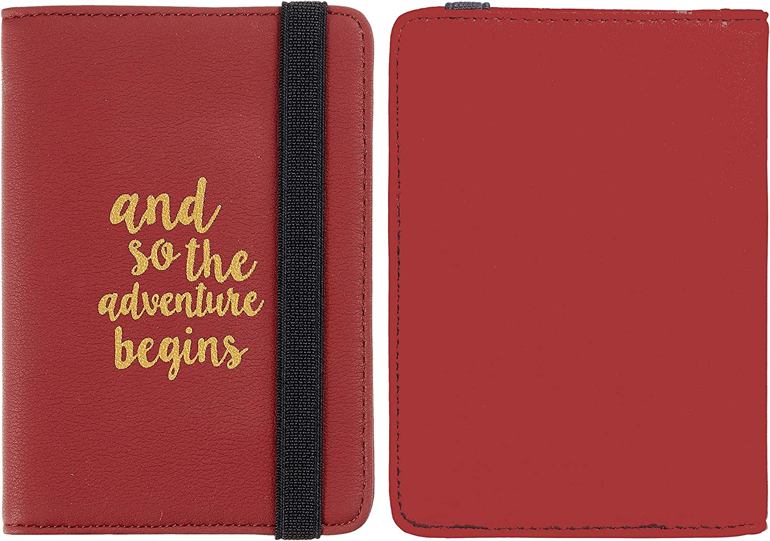Casmonal Passport Holder Cover Wallet RFID Blocking Leather Card Case  Travel Document Organizer Accessories Travel Accessories