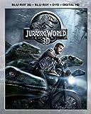 Jurassic World 3D (Blu-ray 3D + Blu-ray + DVD + DIGITAL HD)