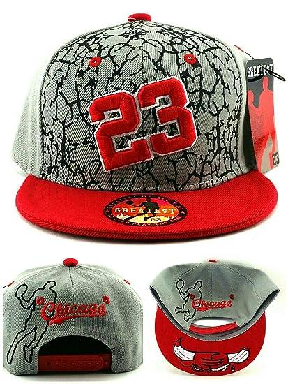Greatest Products Gorra de MJ 23 de los Chicago Bulls 1a08b34f1d3