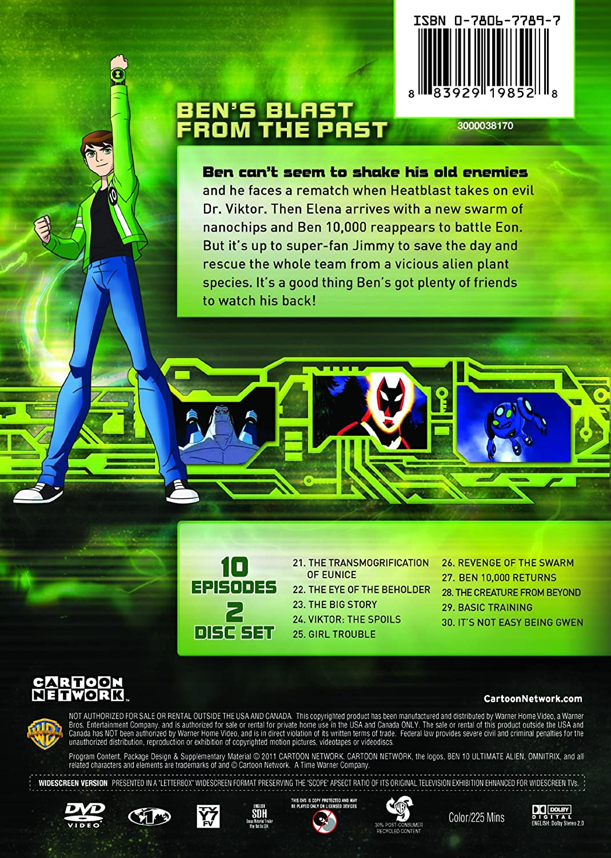 Amazon Com Cartoon Network Ben 10 Ultimate Alien The Return Of Heatblast Various Various Movies Tv
