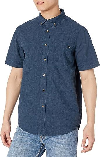 BILLABONG All Day Short Sleeve Woven Camisa con Cuello Abotonado para Hombre
