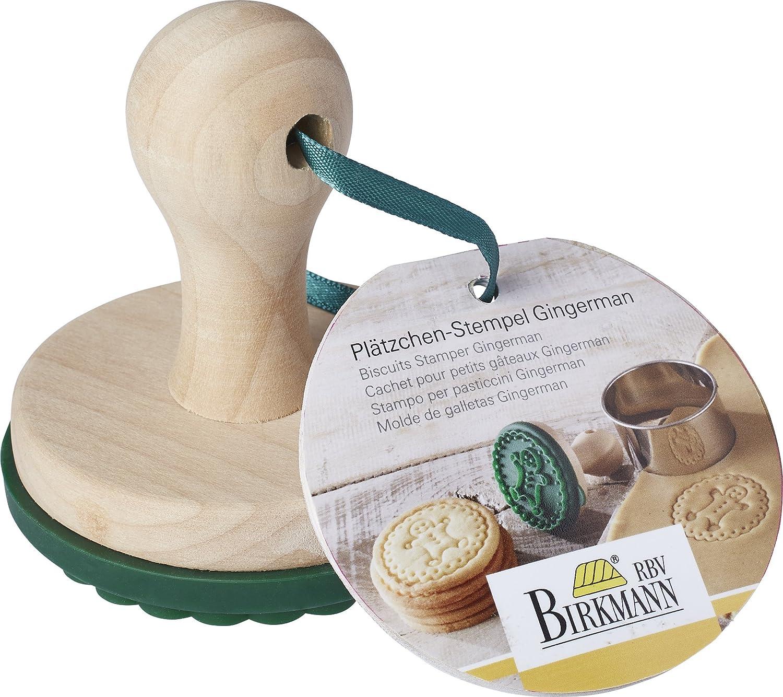 Cookie Stamp Gingerbread Man Birkmann 340275