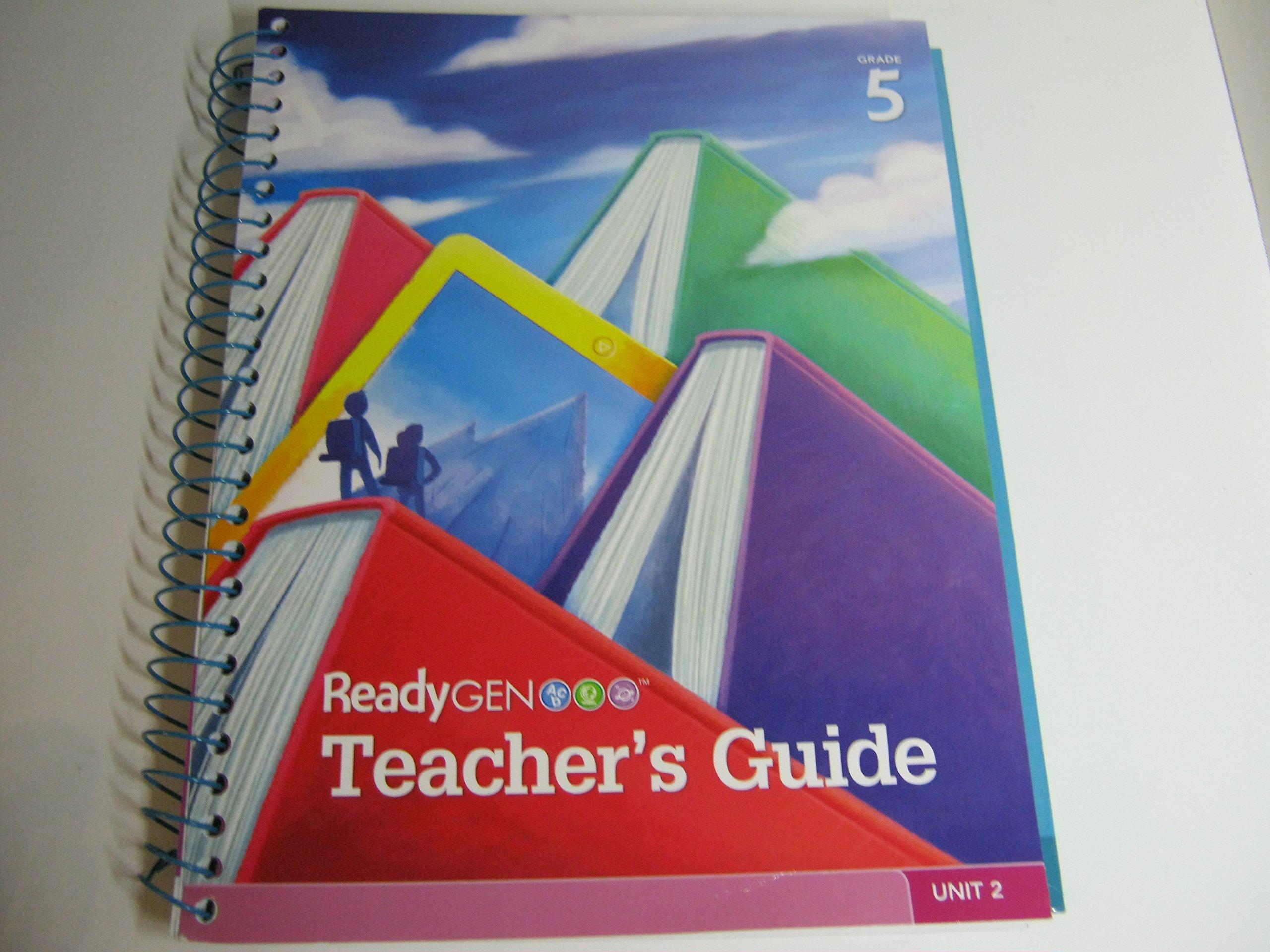 ReadyGen Teacher's Guide Grade 5 Unit 2: 9780328788774: Amazon.com: Books